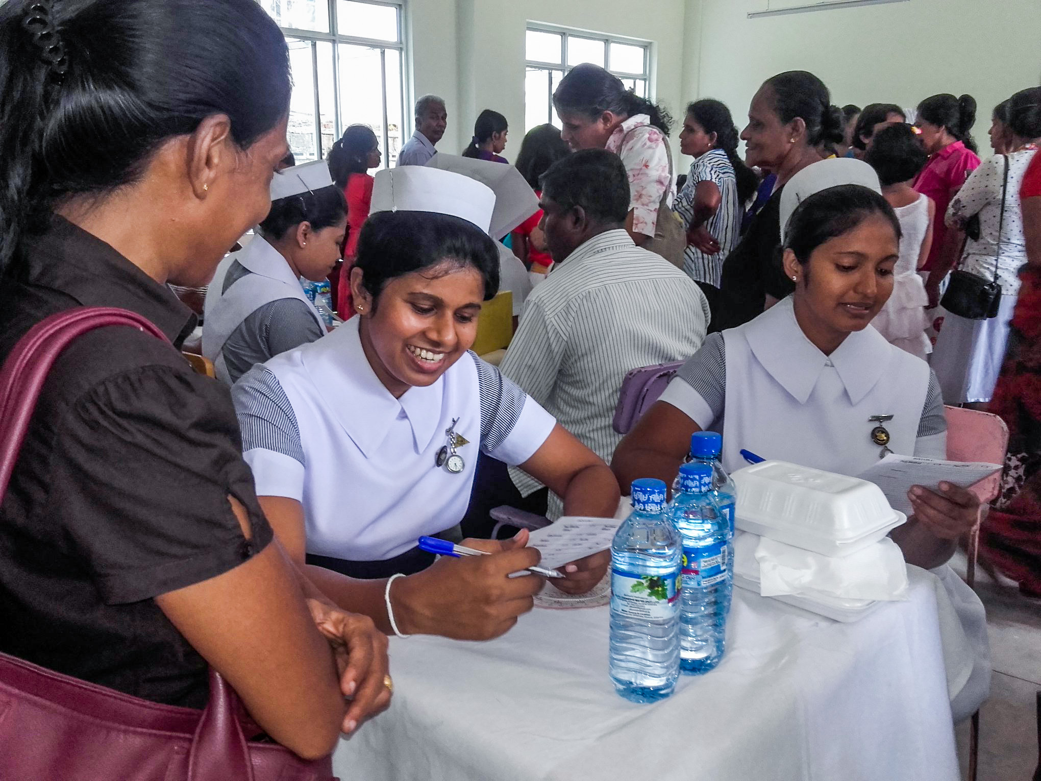 nurses sri lanka