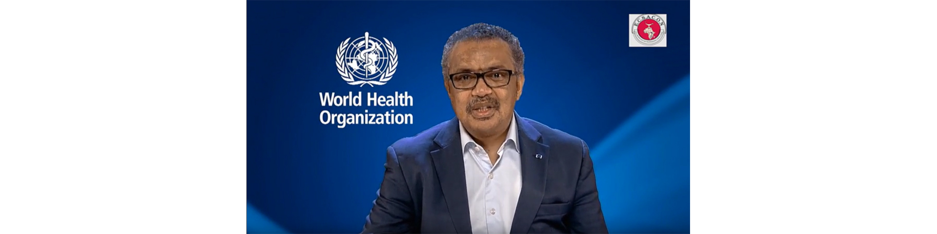 Tedros addresses ECSACON