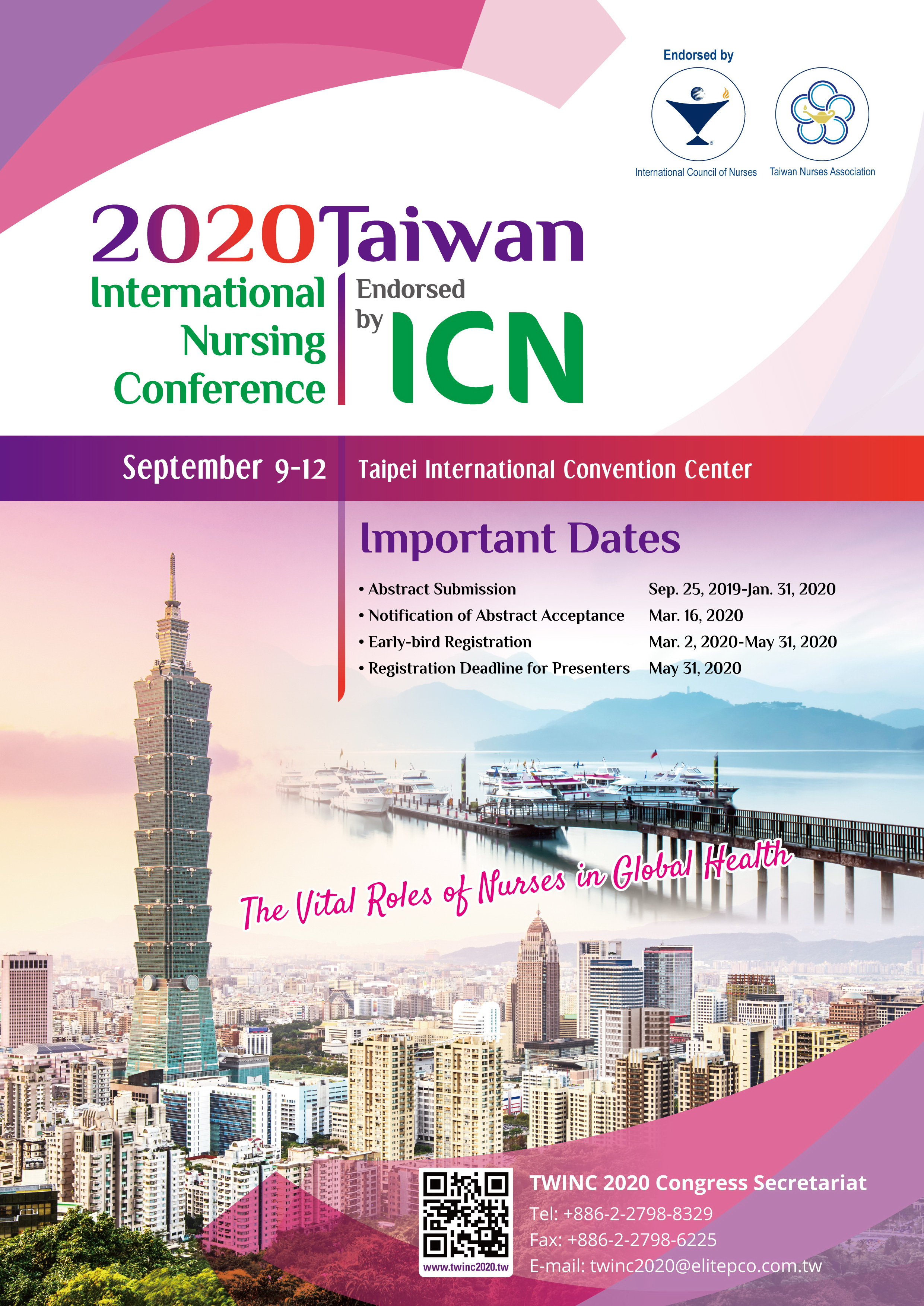 Taiwan conference timings